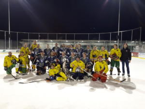 2019-02-09 Eishockeymatch Feuerwehr vs. Musikverein